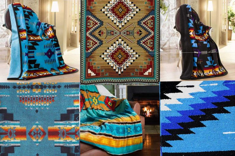 9 Southwestern Blankets That Will Bring Santa Fe into Your Home