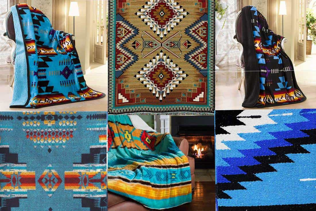 9 Southwestern Blankets That Will Bring Santa Fe Into Your