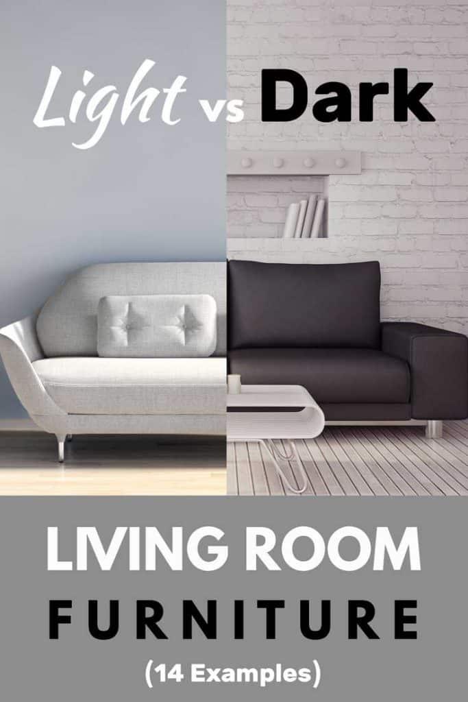 Should You Choose Light or Dark Living Room Furniture? (Inc. 14 examples)