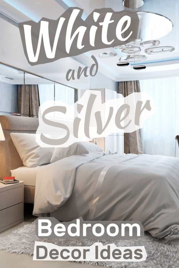 White and Silver Bedroom Decor Ideas