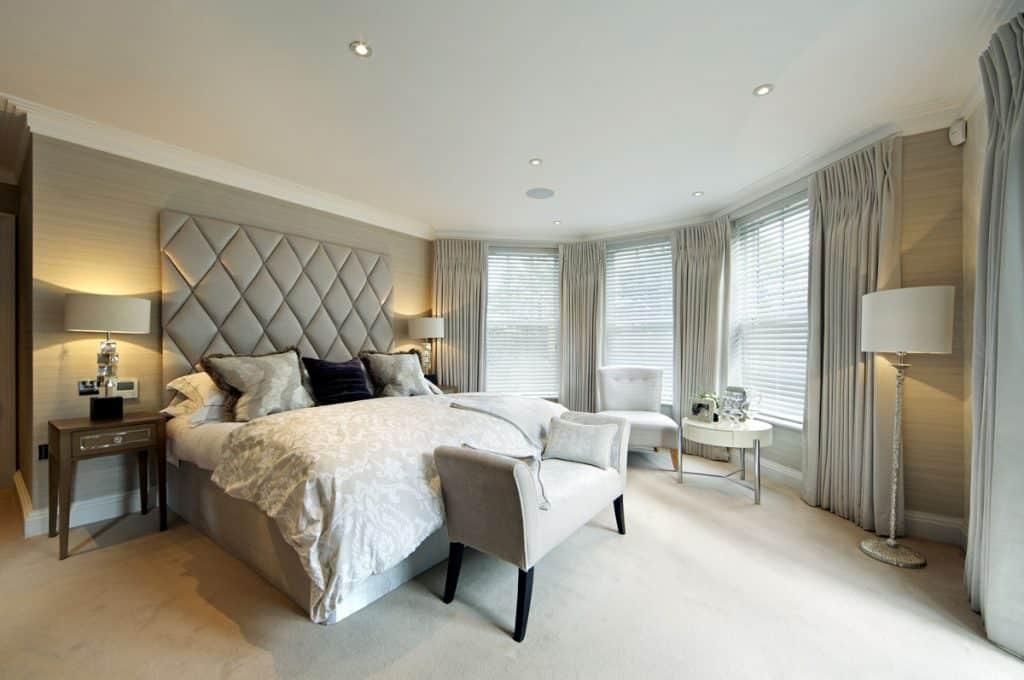 beige cream bedroom
