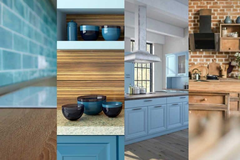 Brown and Blue Kitchen Ideas