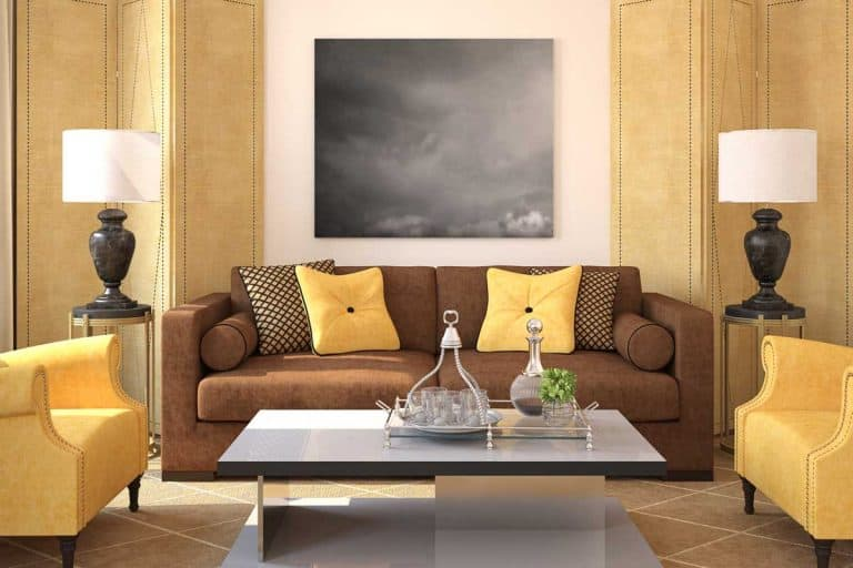 Which Throw Pillows Work Best with a Brown Couch? (With 23 Photo Examples)