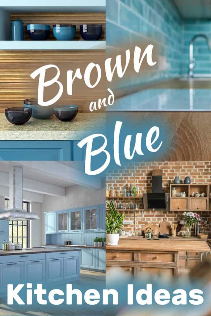 Brown And Blue Kitchen Ideas Home Decor Bliss