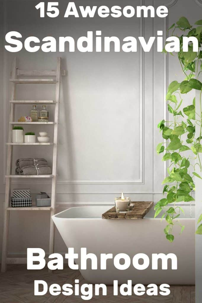 15 Awesome Scandinavian Bathroom Design Ideas