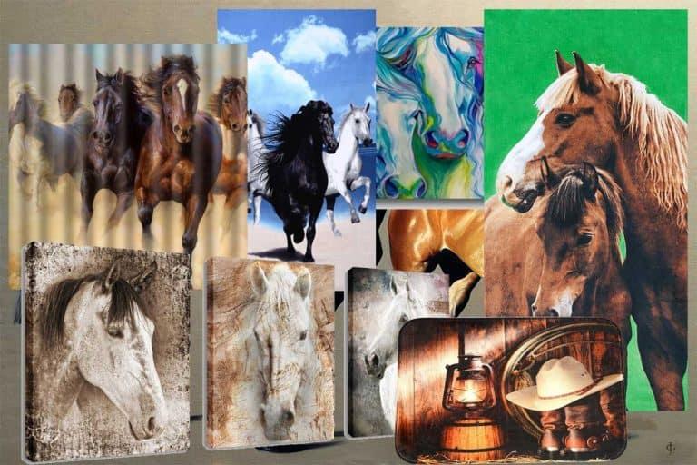 29 Horse-Themed Bathroom Accessories That Will Get Your Spirit Running Wild