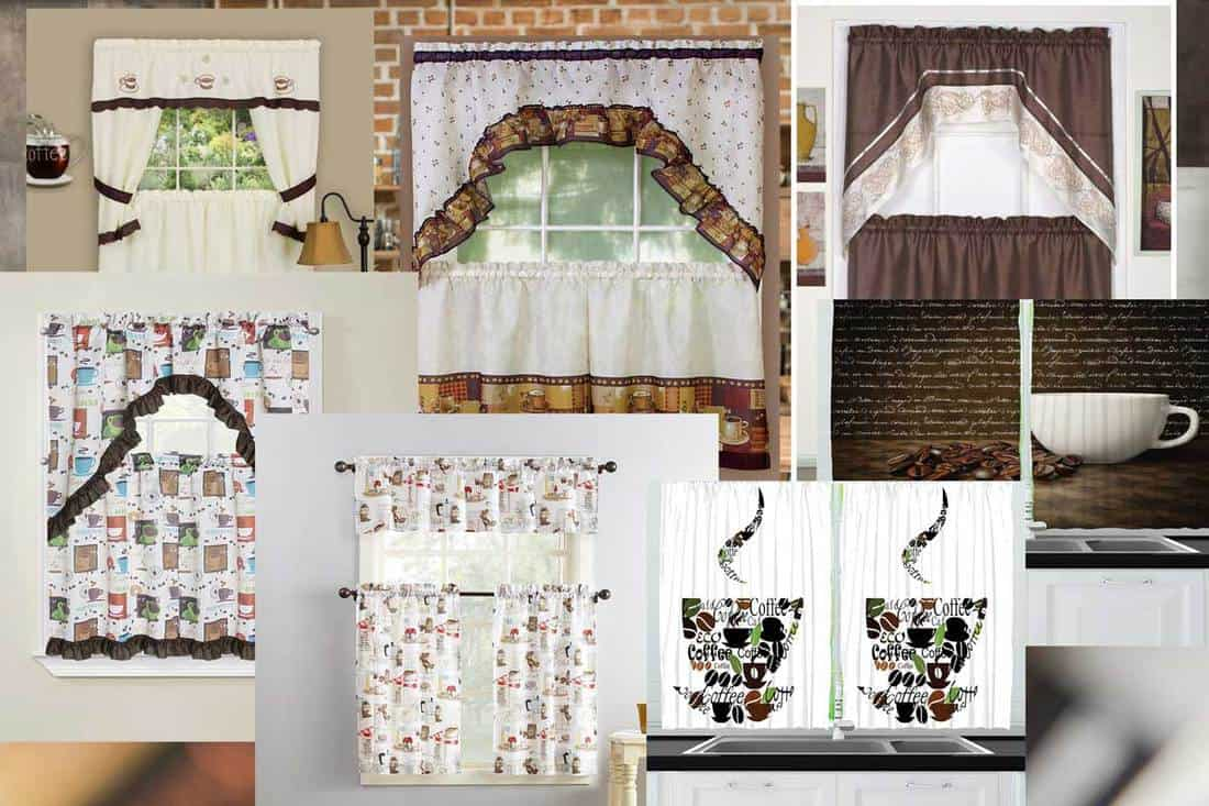 Coffee Themed Curtains You Should Check Out