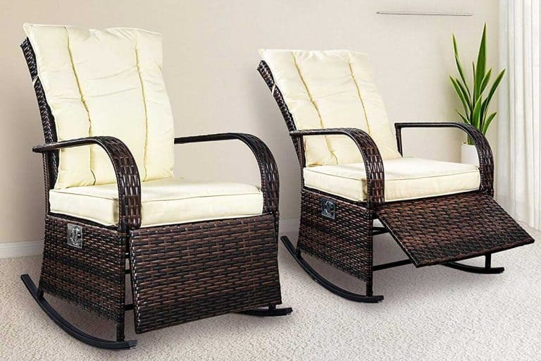 Black and White Rattan Chairs (8 Gorgeous Examples)