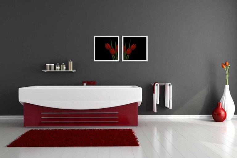 27 Red and Gray Bathroom Ideas That Will Inspire You