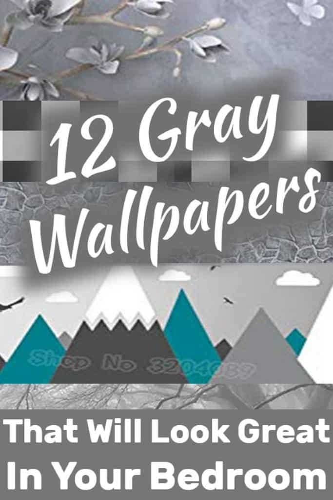 12 Gray Wallpapers That Will Look Great In Your Bedroom