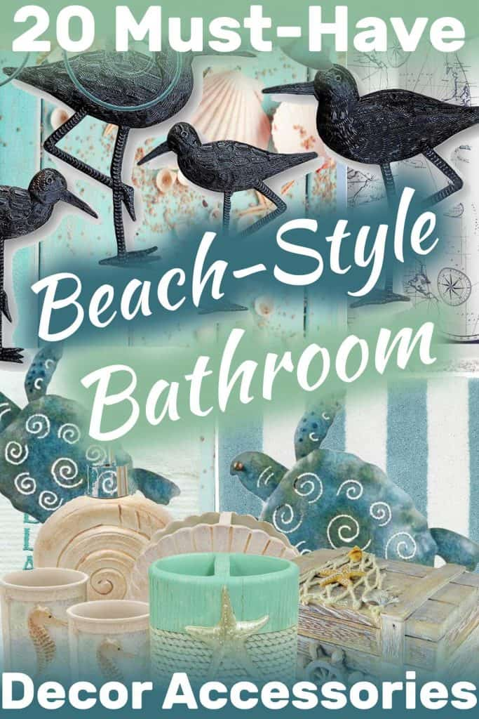 20 Must-Have Beach-Style Bathroom Decor Accessories