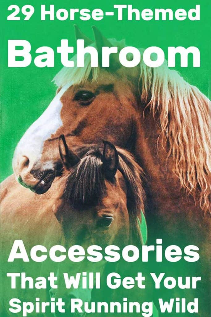 29 Horse Themed Bathroom Accessories