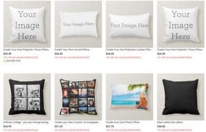 Zazzle website product page