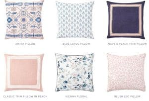 Caitlin Wilson Textiles website product page