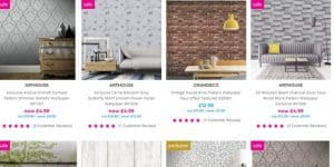 I Want Wallpaper website product page for wallpapers