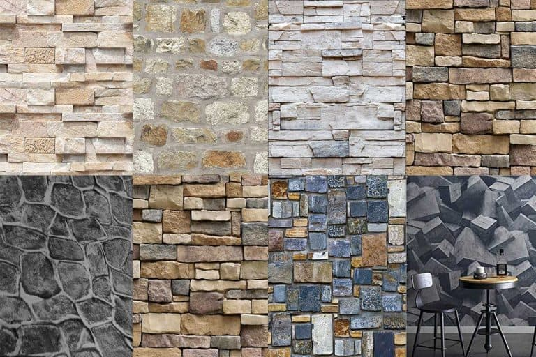 13 Wallpaper Patterns That Look Just like Stone Walls