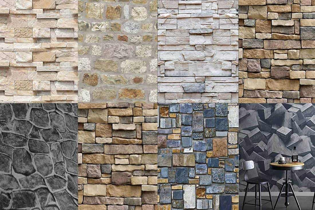 FEATURED 13 Wallpaper Patterns That Look Just like Stone Walls