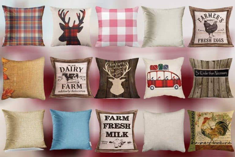 15 Rustic Throw Pillows That Will Give Any Room That Country Style Chic!