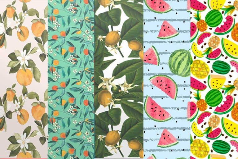 Fruit Wallpaper For Your Kitchen (Design Tips & 14 Gorgeous Examples!)
