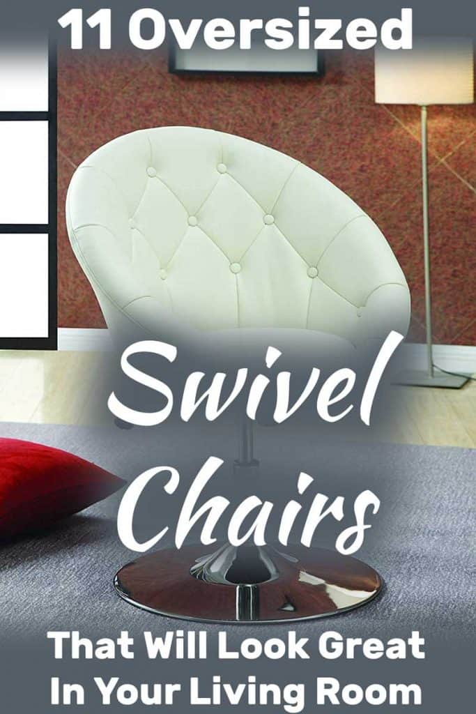 Wondrous 11 Oversized Round Swivel Chairs For Living Room Ibusinesslaw Wood Chair Design Ideas Ibusinesslaworg