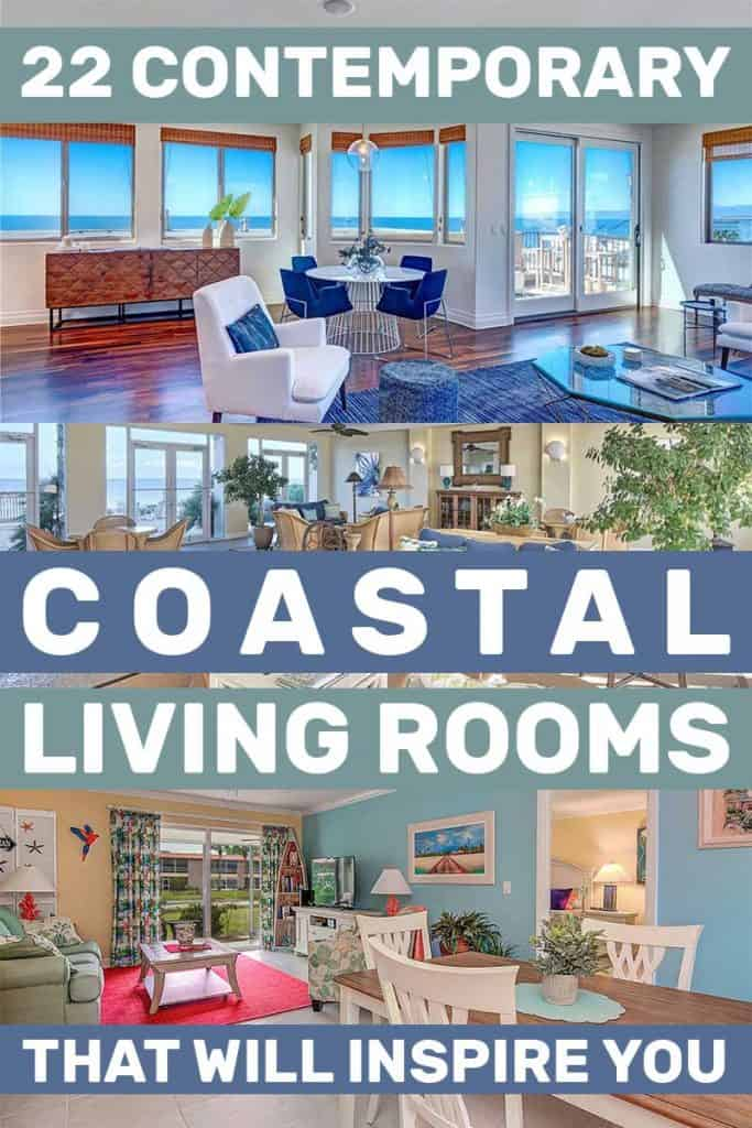 22 Contemporary Coastal Living Rooms That Will Inspire You