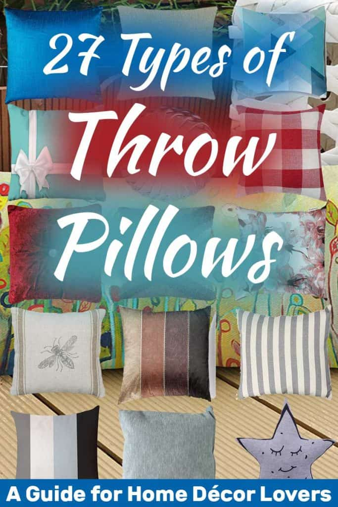 27 Types of Throw Pillows: A Guide for Home Décor Lovers