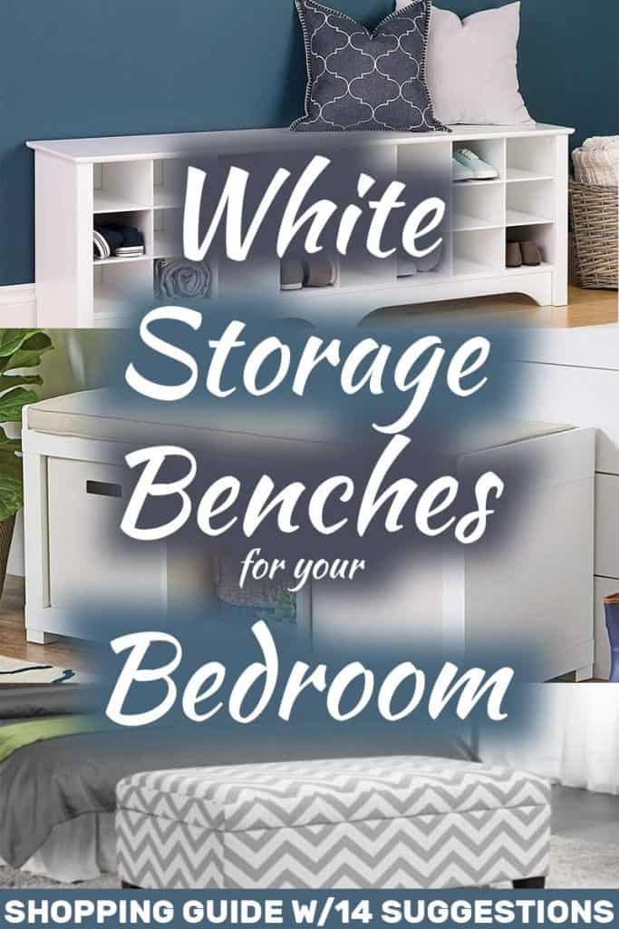 White Storage Benches for Your Bedroom (Shopping Guide with 14 Suggestions!)