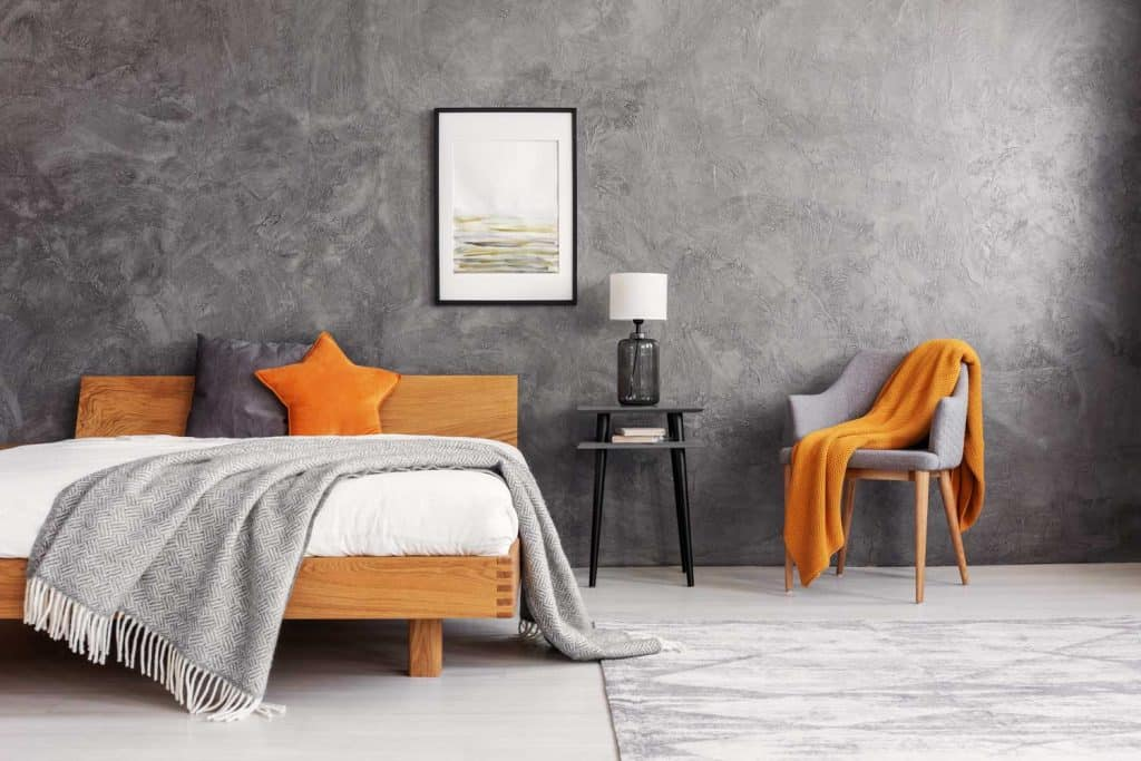 30 Awesome Orange Bedroom Ideas That, Gray And Orange Bedding