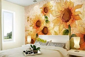 13 Sunflower Wallpapers for Any Room (Inspiration and shopping links)