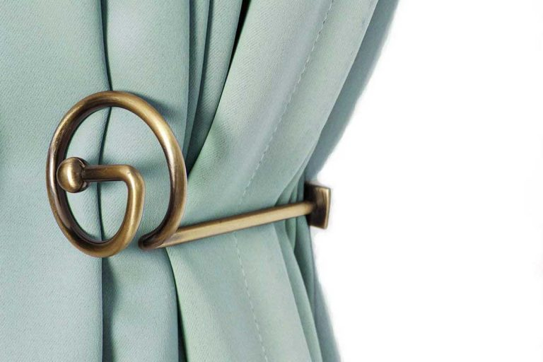 13 Types Of Curtain Hooks And Tiebacks (Including Examples)