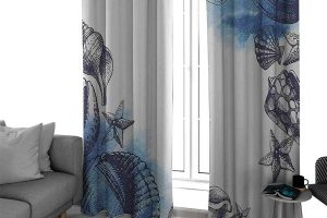15 Beach-Themed Curtains and Valances (Inspiration and Shopping Ideas)