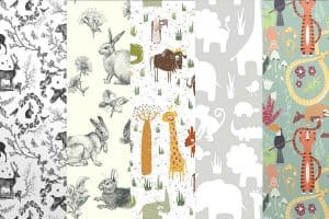 Animal-Themed Wallpaper for Your Nursery Walls (Inspirational Images and Tips!)