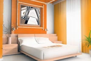 30+ Awesome Orange Bedroom Ideas That Will Inspire You