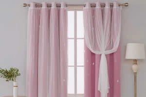 Pink Blackout Curtains for A Gorgeous Nursery (15 Designs inc. photos)