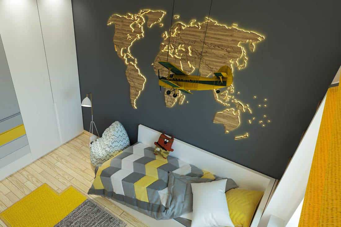 Travel Themed Bedroom Inspiration 20 Ideas From Around The