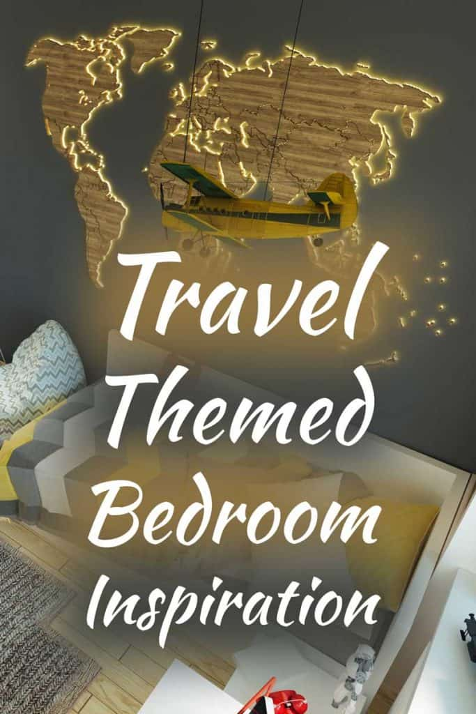 Travel-Themed Bedroom Inspiration (20+ Ideas from Around the Globe)