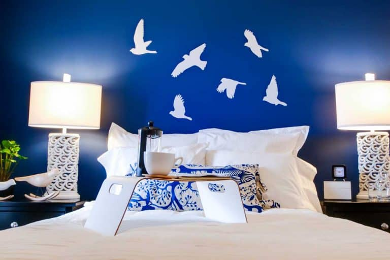 What Color Bedding For A Blue Bedroom (Illustrated Examples And Shopping Links)