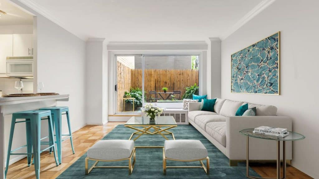 123 Teal Living Room Ideas [INSPIRATION Photo Post] - Home Decor Bliss