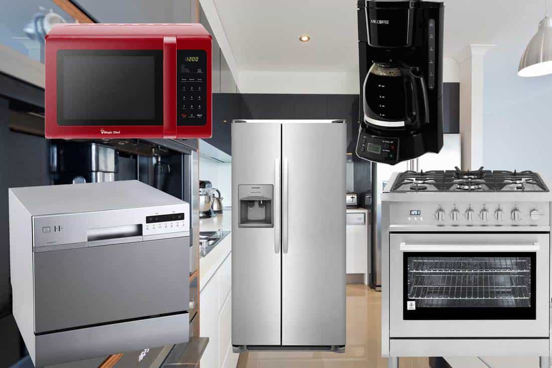 List Of Basic Kitchen Appliances Inc Examples Home