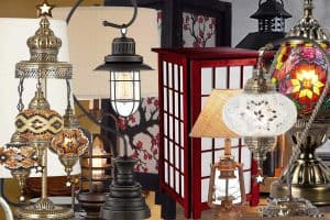 15 Gorgeous Lantern Table Lamps That Will Light up Your Room