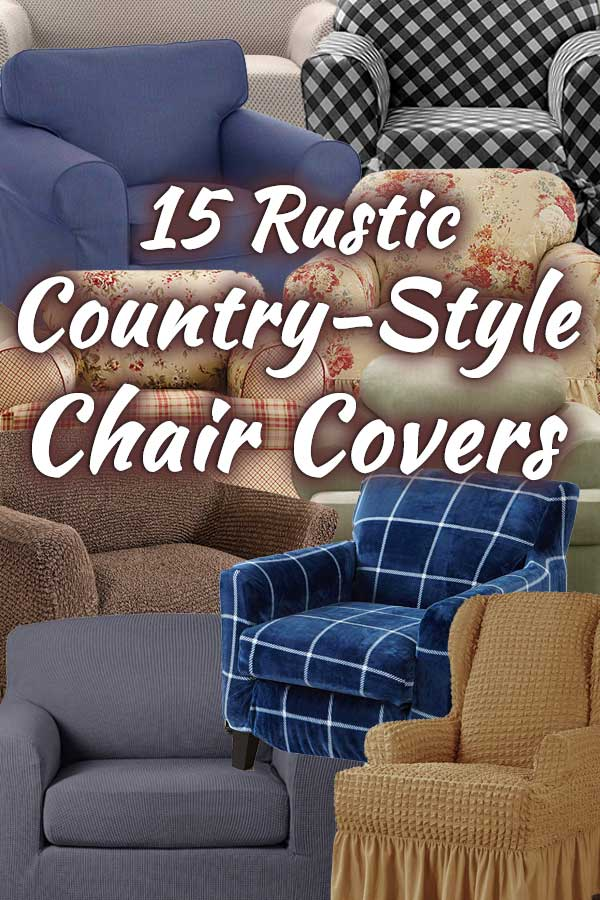 15 Rustic Country-Style Chair Covers