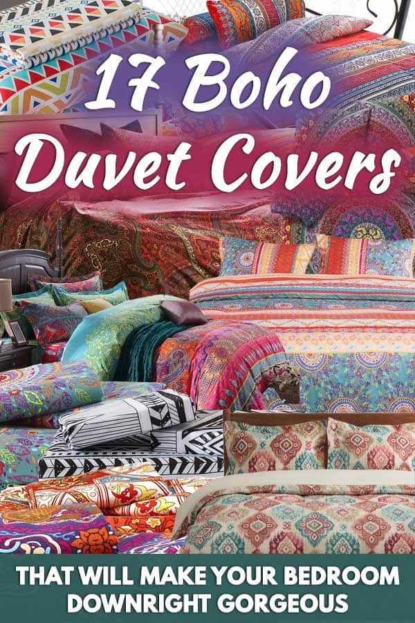 17 Boho Duvet Covers That Will Make Your Bedroom Downright Gorgeous