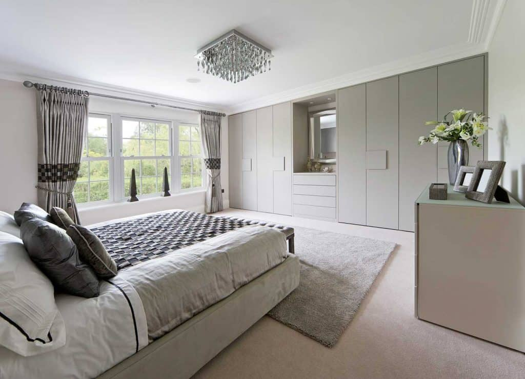 Beautifully fitted wardrobes
