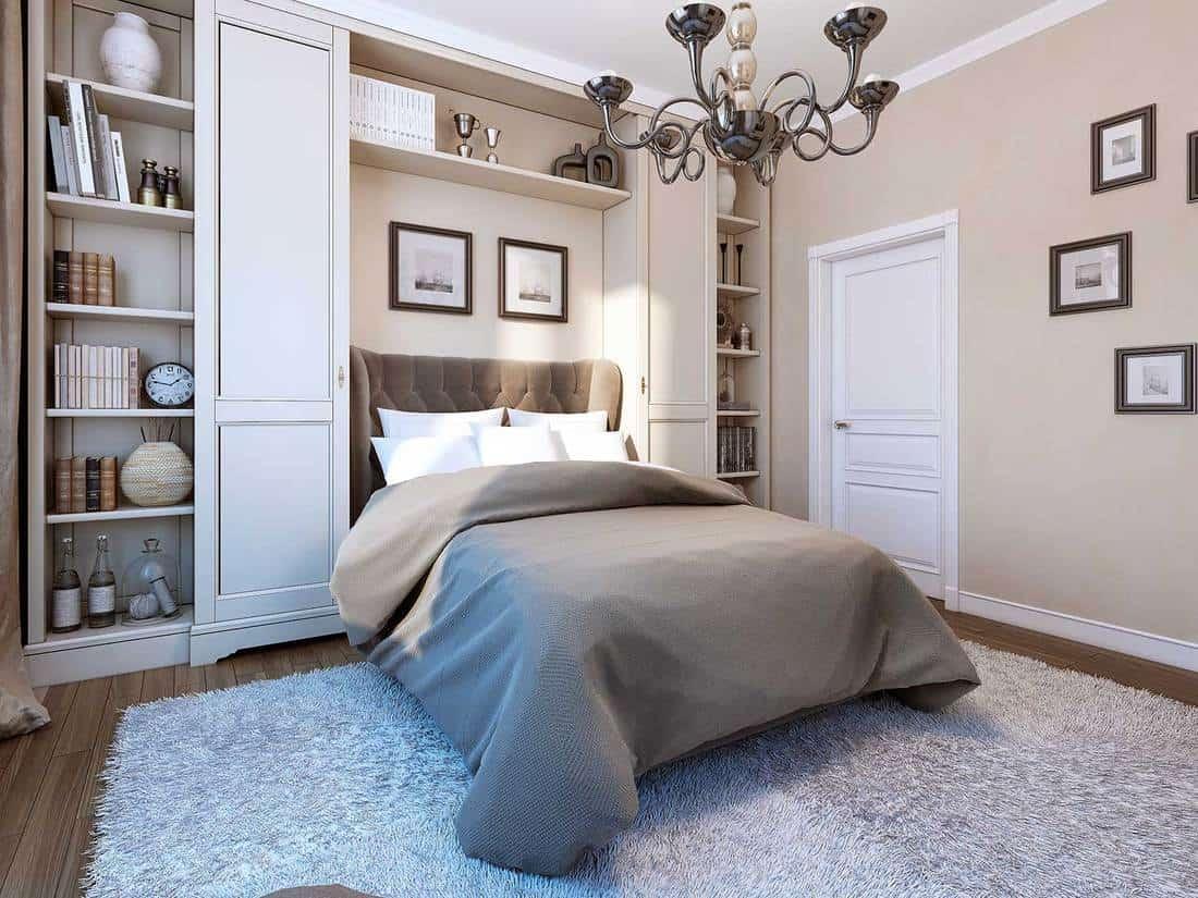 Bedroom in modern style