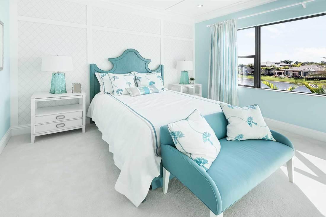 Cozy villa bedroom