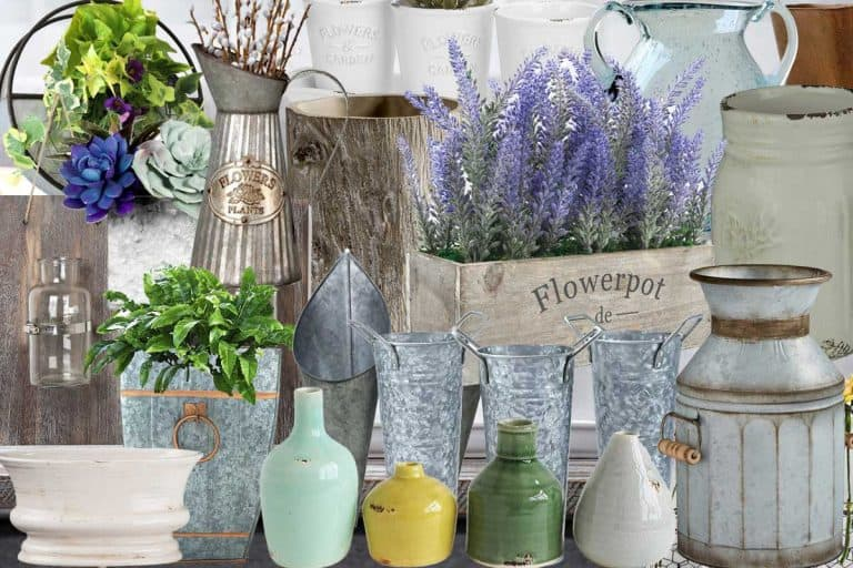 20 Farmhouse Vases For That Perfect Rustic Look