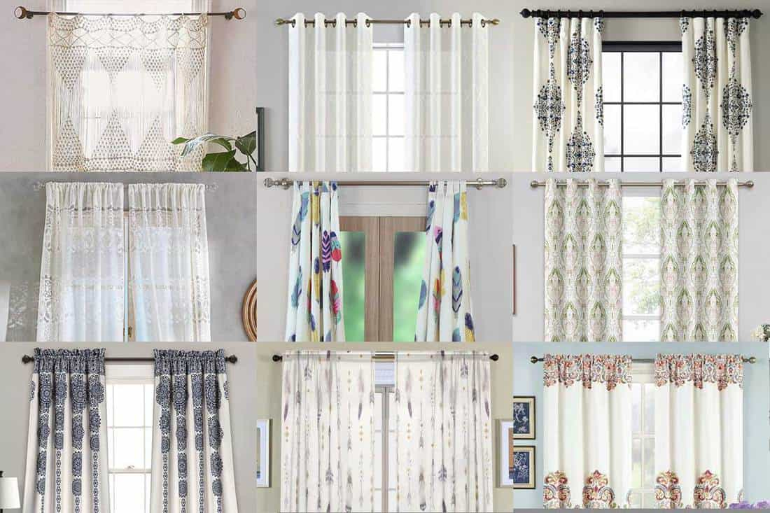 12 White Boho Curtains That Will Look Great in Any Room   Home ...