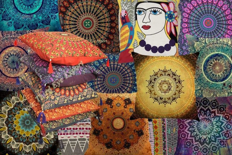 15 Boho Throw Pillows That Will Look Great on Your Couch or Bed