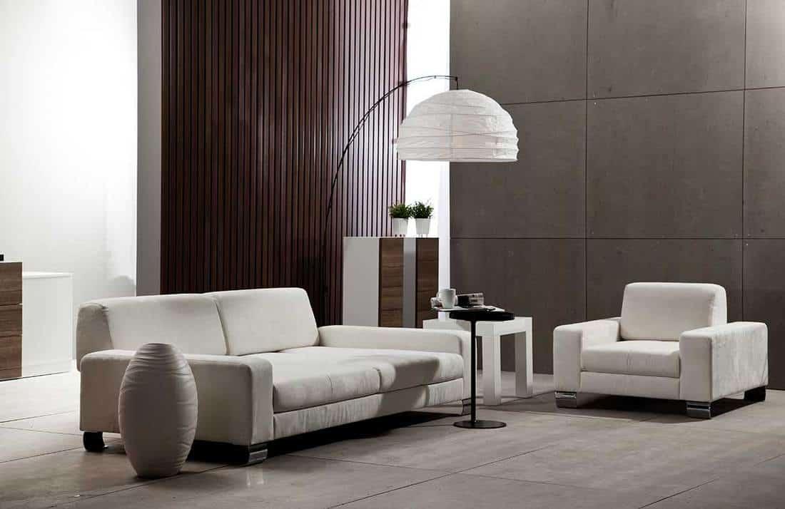 Modern lobby living room