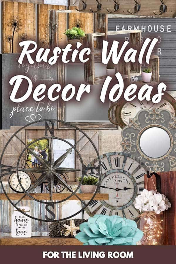 20 Rustic Wall Decor Ideas For The Living Room Home Decor Bliss